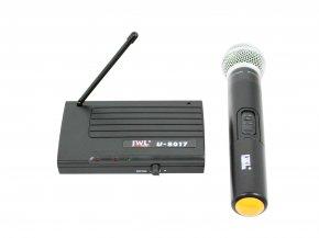 Imagem - Sistema de microfone sem fio UHF com microfone de mão, Capsula Dinâmico cardioide | JWL | U-8017  - U8017