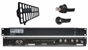 Imagem - Sistema de RF para IEM | 1 Combiner, 1 Antena e 1 cabo 10 metros | MGA Pro Audio | UC-44 2100 A-1 - UC44-2100-A1