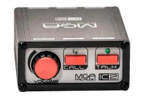 Imagem - Unidade de cinto para sistema de comunicação com volume, call e talk | MGA Pro Audio | IC-2 - IC-2