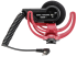 Microfone shotgun com suspensão Rycote para câmeras de vídeo e gravadores   RODE   VideoMic 5