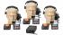 Sistema comunicação de 3 pontos   Fonte, Headset, Controles e Sinalizadores   MGA Pro Audio   SI33