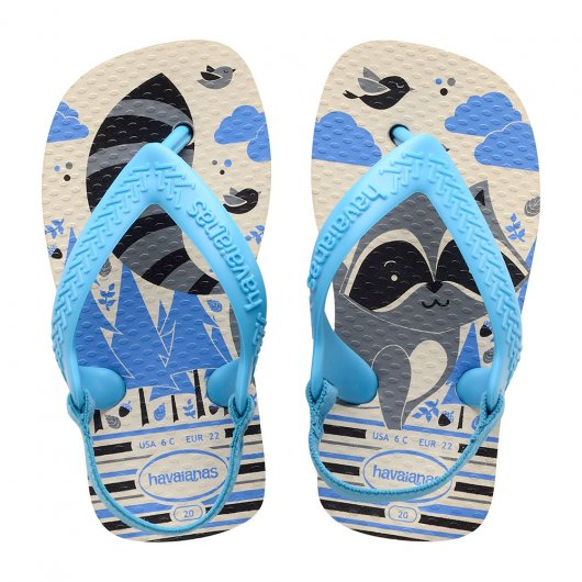 bfcea90bcd5 Chinelo Infantil Havaianas New Baby Pets - 17 ao 25 Bege-Palha ...