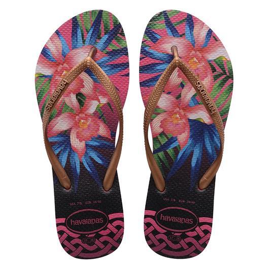 Chinelo Havaianas Slim Tropical