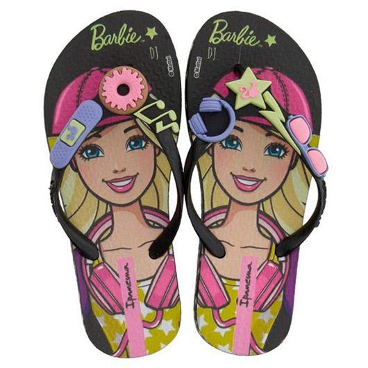 Chinelo Infantil Barbie Profissoes 26016