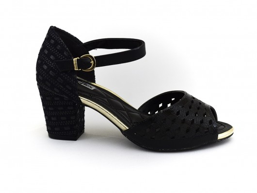 Sandalia Peep Toe Comfortflex 1675401