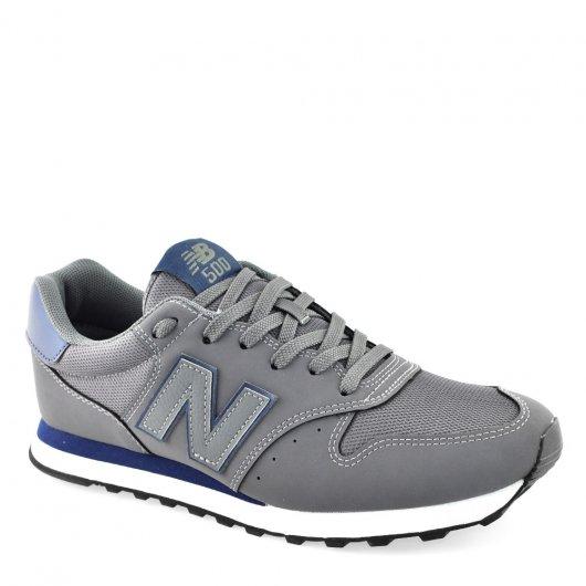 5398a92bfe2 Tênis Masculino New Balance GM500DGN Cinza-Azul