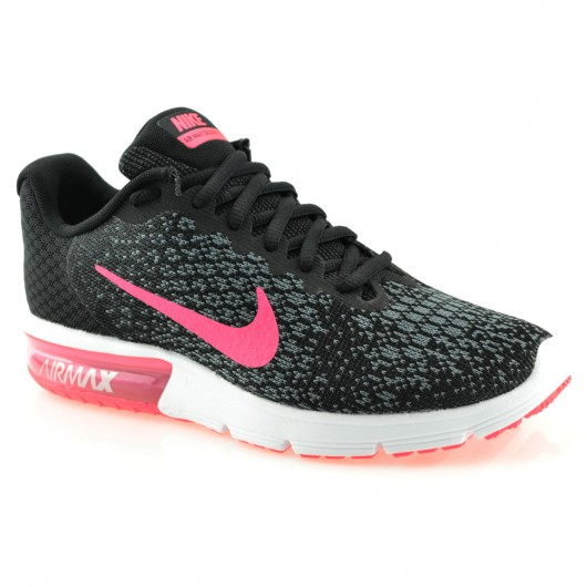 eb6f92517 Tênis Running Nike Air Max Sequent 2 - 852465 Preto-Pink