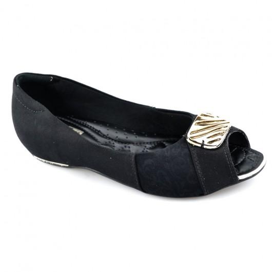 Sapatilha Peep Toe ComfortFlex - 1776305 -
