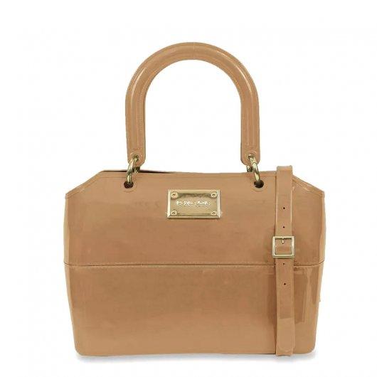 81b0b93b0a Bolsa Zip Bag Petite Jolie Pj1855 Nude