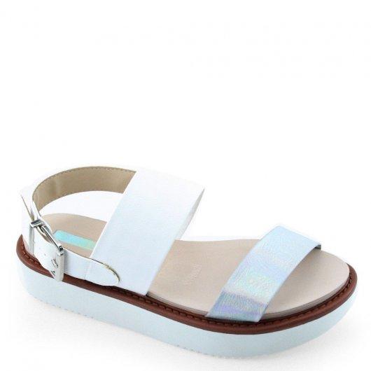 Sandalia Flatform Moleca 5406103