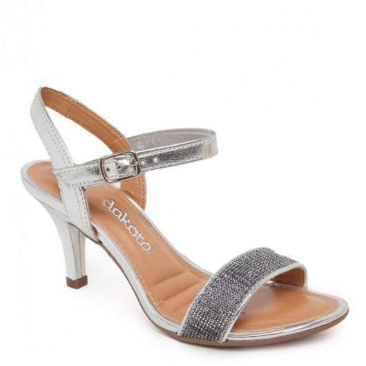 Sandália Salto Alto Dakota Z1661