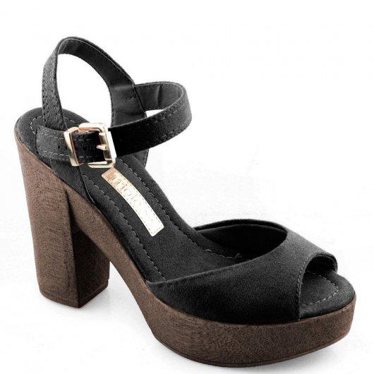 Sandalia Salto Alto Moleca 5402103