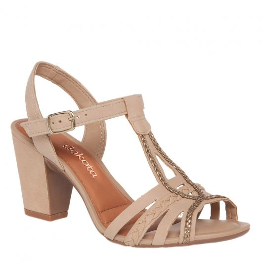 Sandalia Salto Medio Dakota Z0921