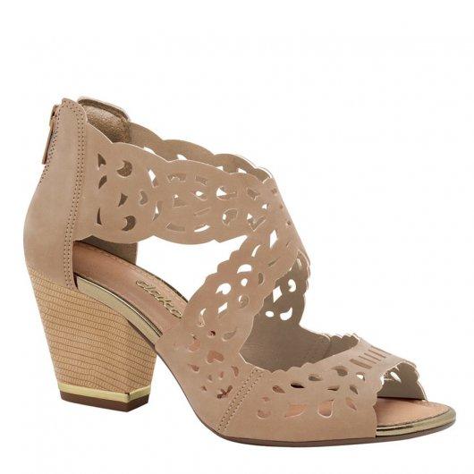 Sandalia Salto Medio Dakota Z1284