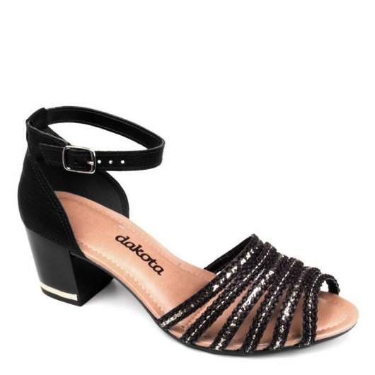 Sandalia Salto Medio Dakota Z1511