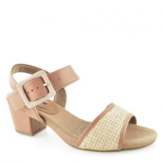 Sandalia Salto Medio Usaflex K9297