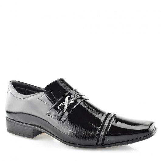 Sapato Masculino Social Envernizado Jota Pe 30501