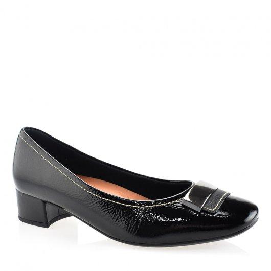 Sapato Feminino Social Fivela Salto Baixo Usaflex AA2702