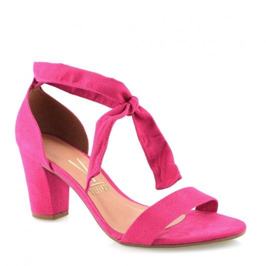 216cb6ccd8 Sandália Com Laço Vizzano 6262248 Pink