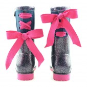 Bota Galocha Infantil Barbie  21390 - 25 ao 32 2