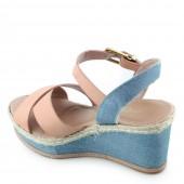 Sandalia Anabela Cromic 2907 Jeans 3