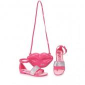 Sandalia Rasteira Barbie Pop Glam 21365 2