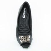 Sapatilha Peep Toe Comfort Flex 1676405 2