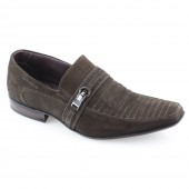 Sapato Social Nobuck Rafarillo 9761 -