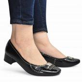 Sapato Feminino Social Fivela Salto Baixo Usaflex AA2702  2