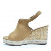 Sandália Feminina Anabela Salto Alto Open Boots Via Marte 17103 3