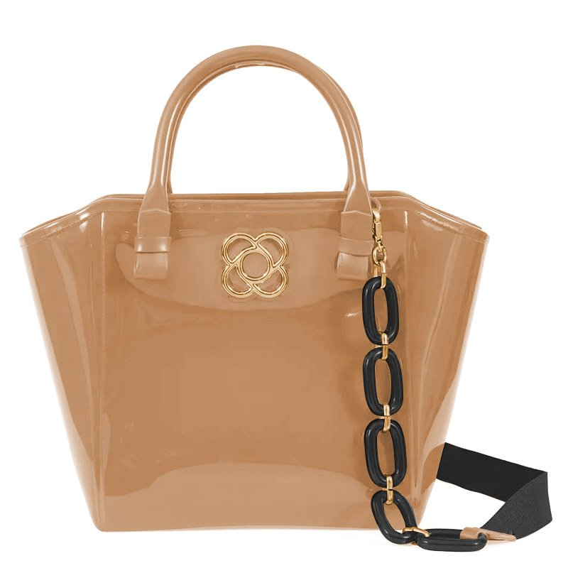 1fc3ea58d6 Bolsa Shape Bag Petite Jolie Pj3173 Nude