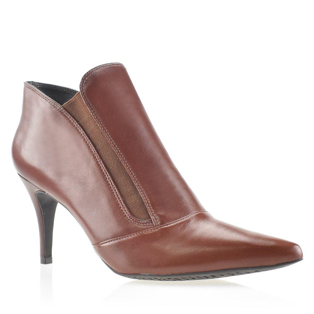 07ce94491b937 Bota Feminina Ankle Boot Milano Luz da Lua S61211 Tabaco | Godiva ...