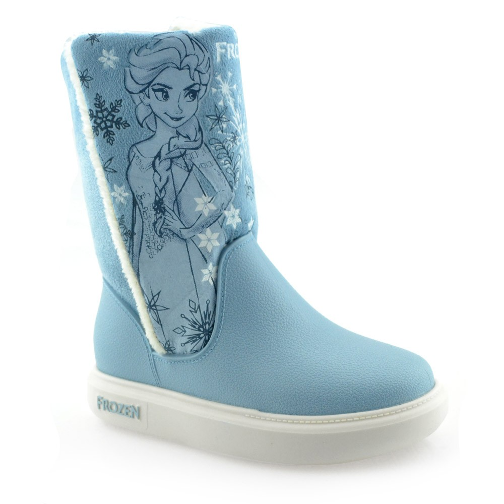 fe5da85d879 Bota Infantil Estilo Ugg Frozen Snowland - 21565 - 23 ao 33 Azul ...