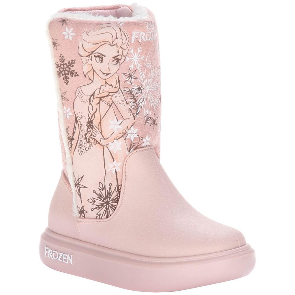 5bde3f8ac22 Bota Infantil Estilo Ugg Frozen Snowland - 21565 - 23 ao 33 Rosa ...