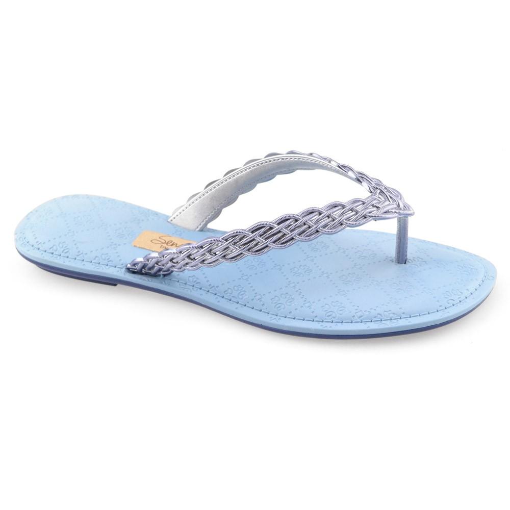 3e51cdb5d Chinelo Grendha Sense - 17385 - Azul | Godiva Calçados