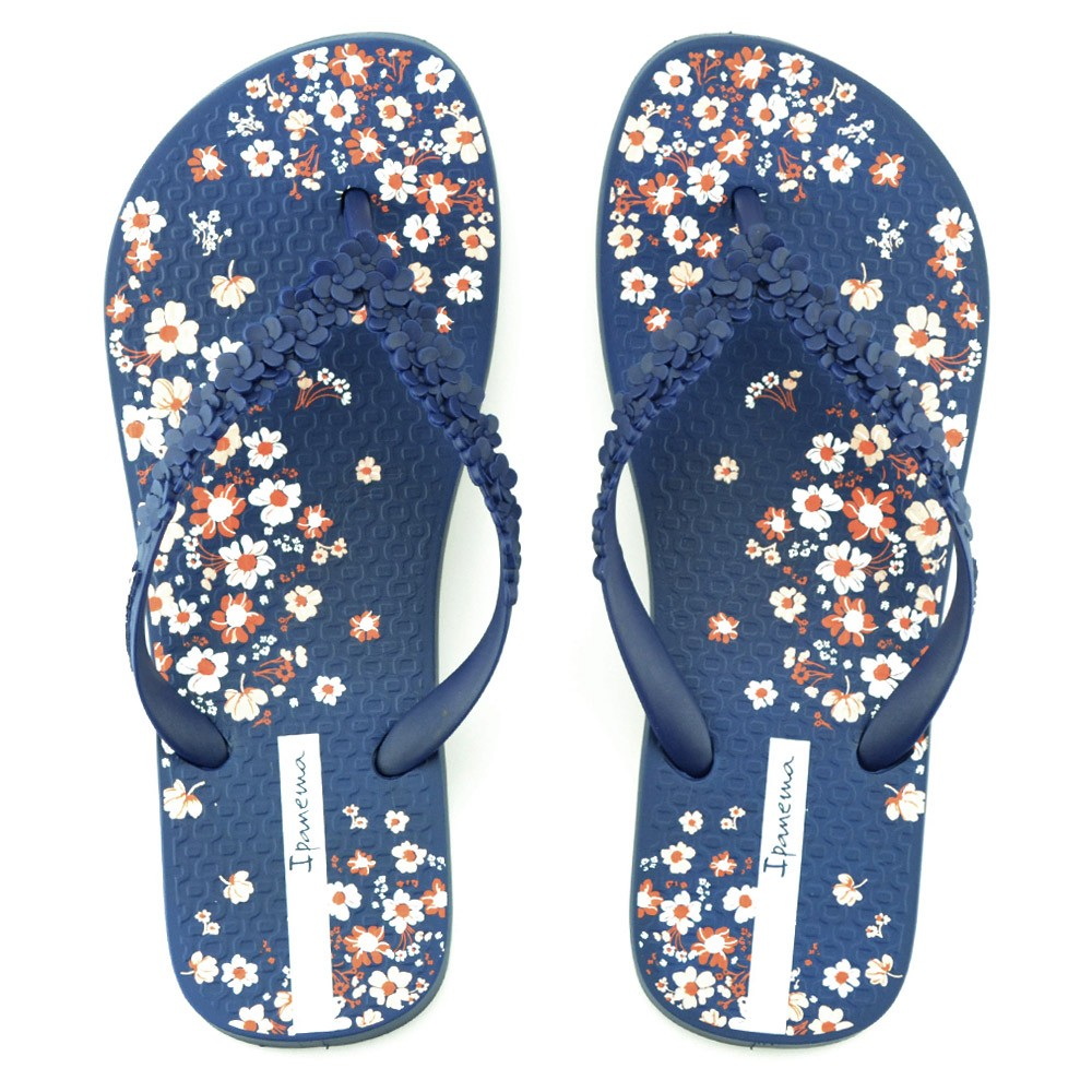 Chinelo Ipanema Fashion Floral - 25720 - Azul  89a9428138150