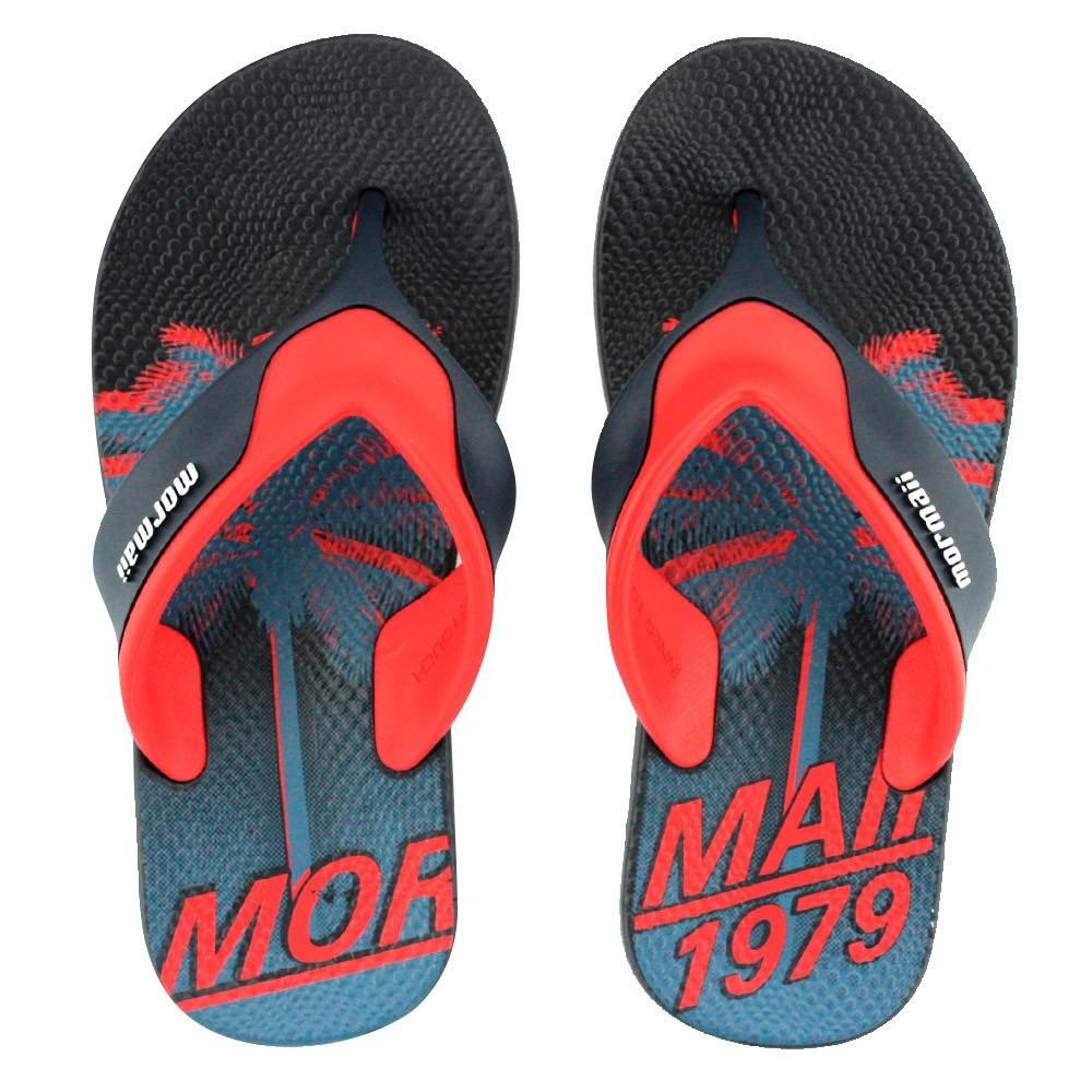 0e0771233 Chinelo Mormaii Neocycle 10897 Azul Vermelho | Godiva Calçados