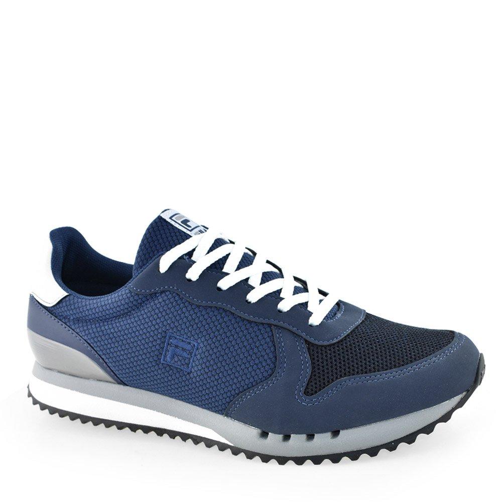 5cf59b9098 Tênis Fila Retrô Runner SE Azul-Branco-Coral