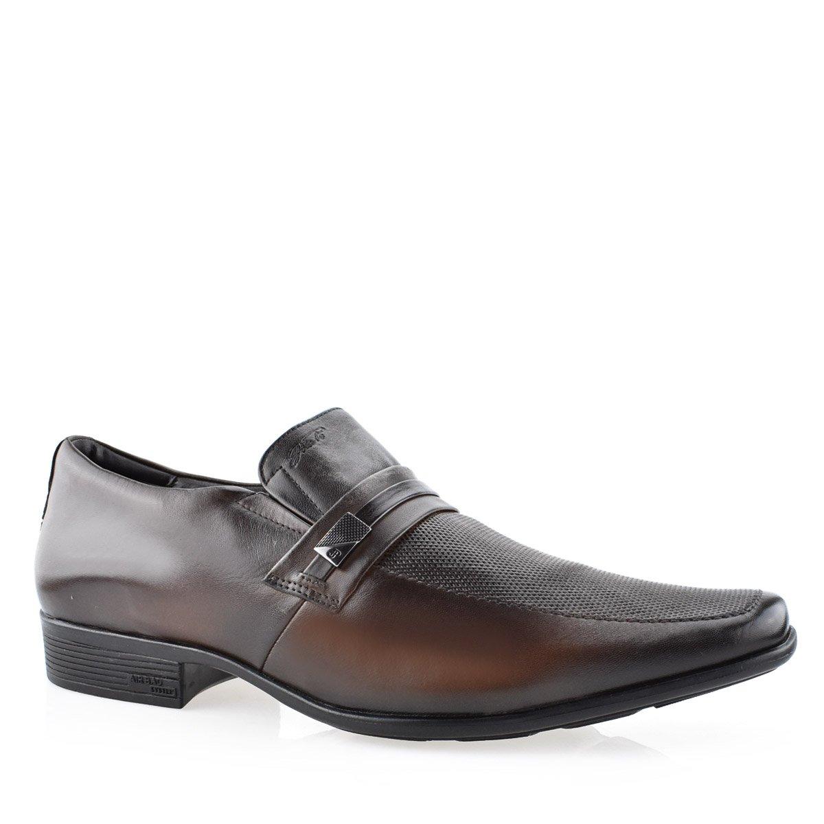2f48a92ff Sapato Masculino Social Numeração Especial Air Bag Jota Pê 13140 ...