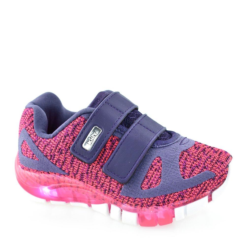 9f152697ef3 Tênis Infantil Kidy Flex Light 02010702146 - 22 ao 27 Pink-Purpura ...
