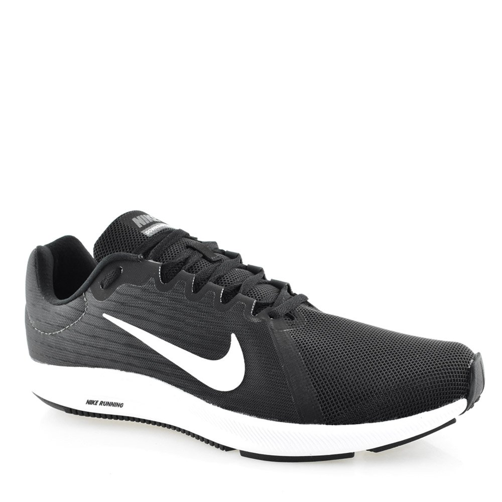 72d40d1f0c Tênis Nike Downshifter 8 - 908984-001 Preto-Branco-Cinza