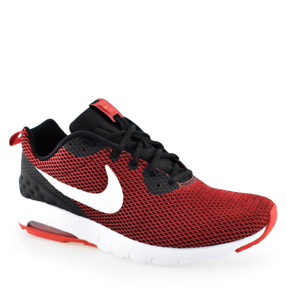 Tênis Nike Air Max Motion low Mesh - AA0544 Vermelho Preto Branco ... b54a7ba88d2bd