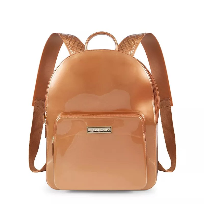 da60b6f8d Mochila Kit Bag Petite Jolie Pj2032 Bronze | Godiva Calçados