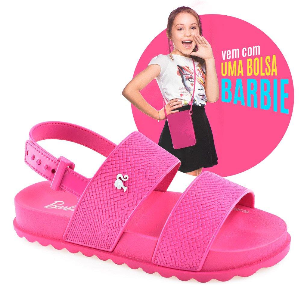 fed2b8ca3 Sandália Infantil Barbie Magic Bag 21632 Rosa | Godiva Calçados