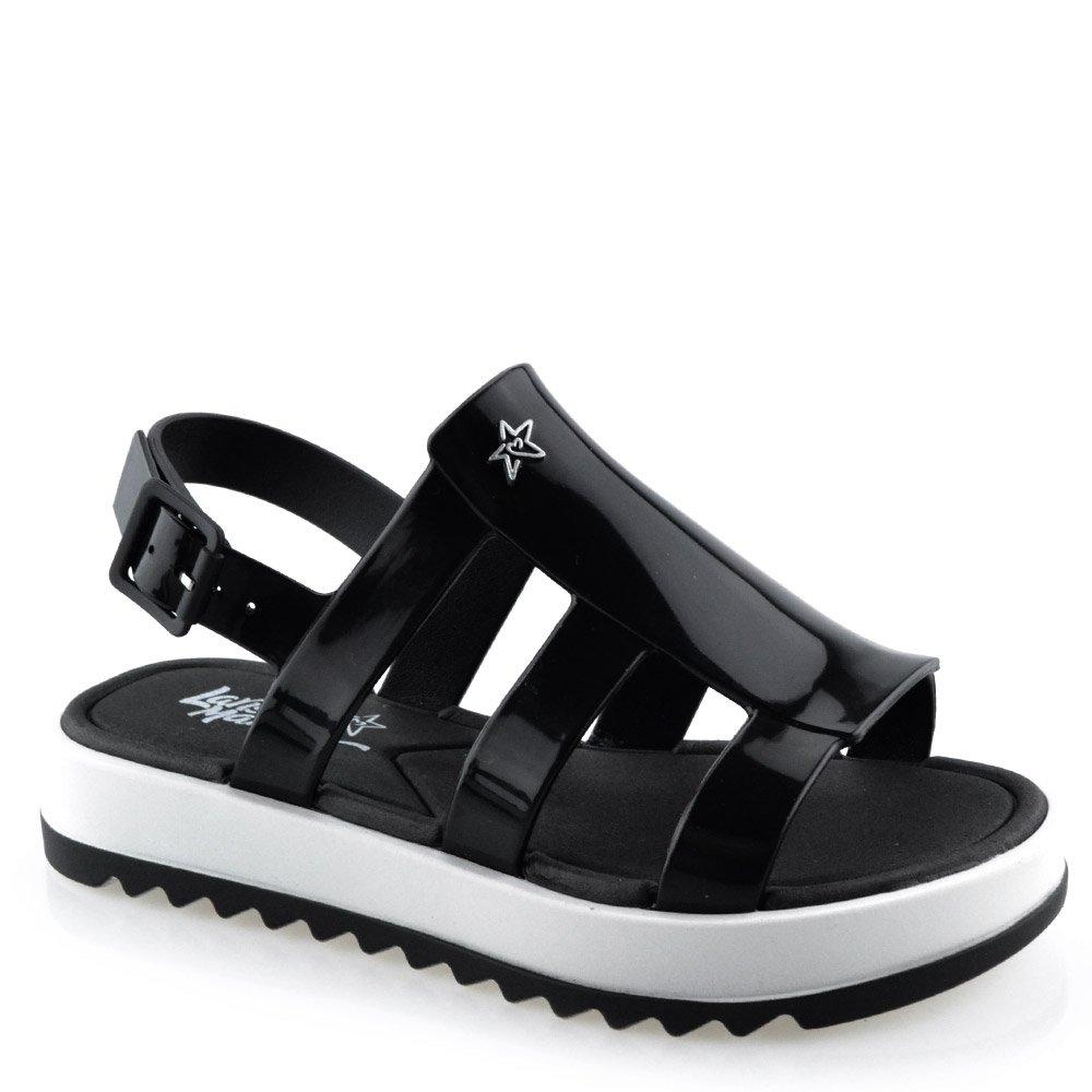 Sandália Infantil Larissa Manoela Flat Power Fashion 21683 - 25 ao ... 48d7190a4b