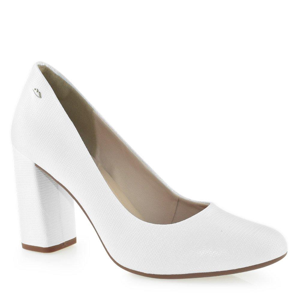 cbcf6254b4 Sapato Salto Alto Dakota B9763 Branco