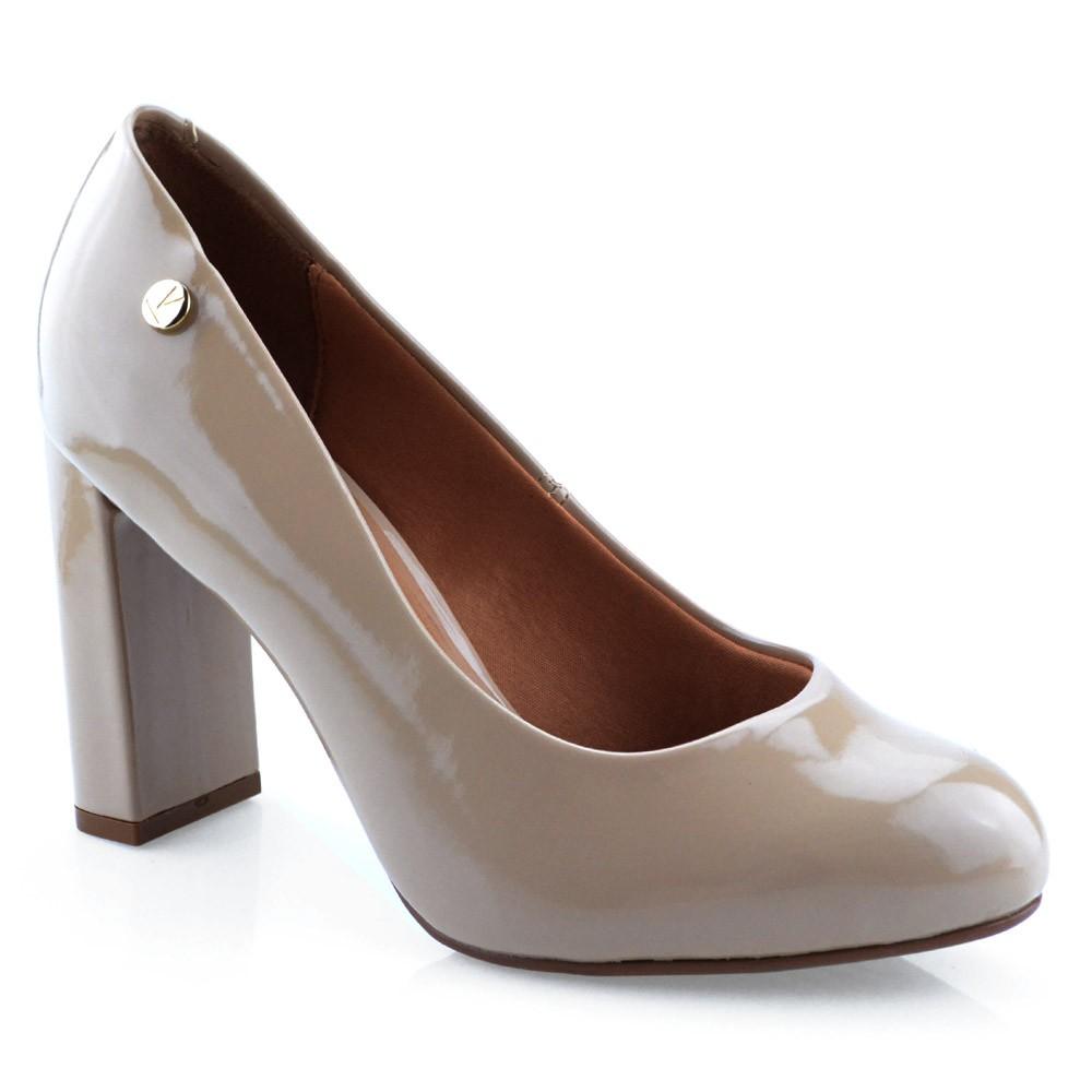 99ff918ad9 Sapato Salto Alto Vizzano - 1260100 Verniz Bege
