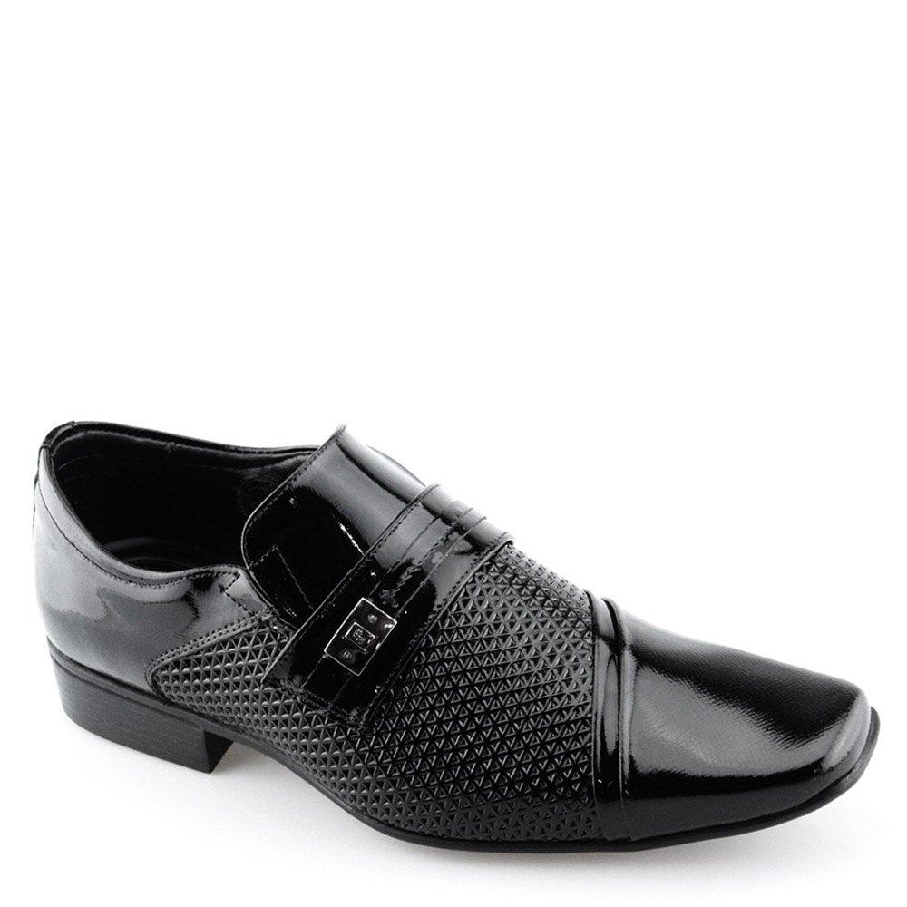 0edf5caed Sapato Masculino Social Air Prince Jota Pe 40646 Preto | Godiva Calçados