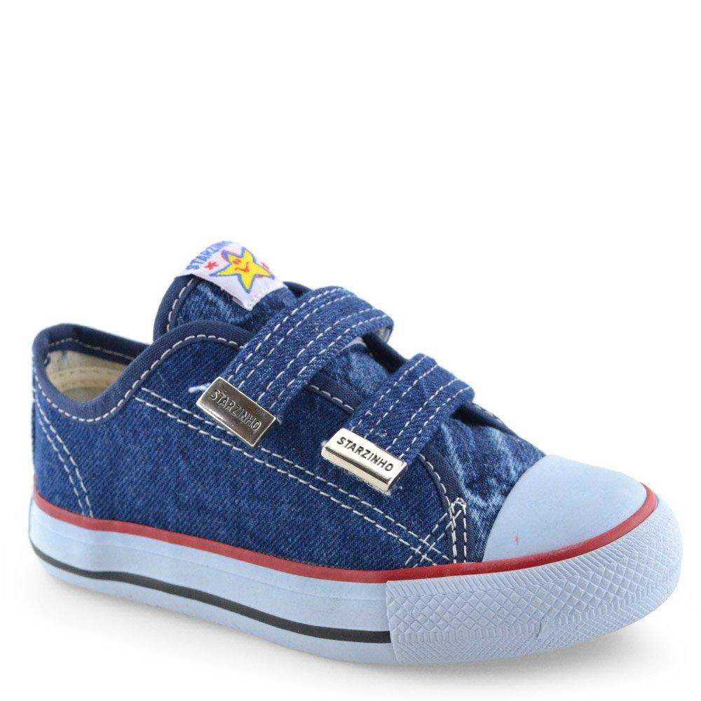 61d1aeb59a4 Tênis Infantil Starzinho - 10025 Jeans