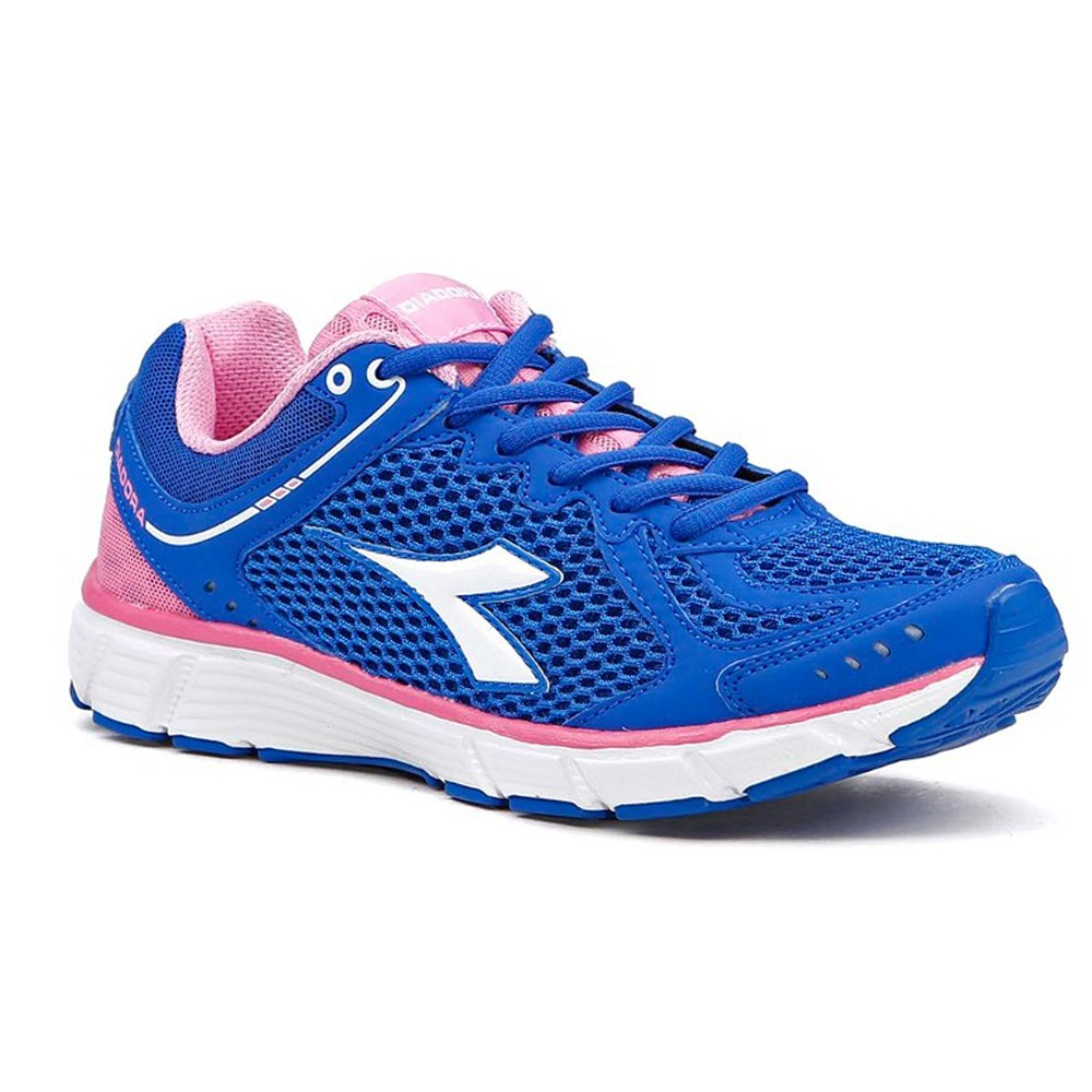 1159563c577 Tênis Feminino Diadora Strike II Royal-rose